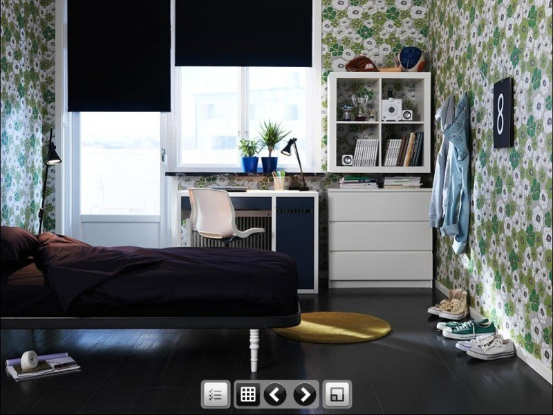 2011 ikea teen bedroom furniture for dorm room decorating for Ikea bedroom design ideas