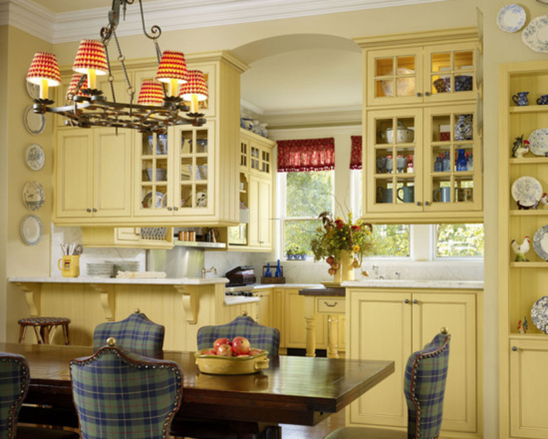 French country kitchen decorating ideas design pictures for French country kitchen decorating ideas