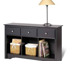 Inspirational Living Room Console Table: Inspirational Living Room Console Table Picture  Trend Decoration