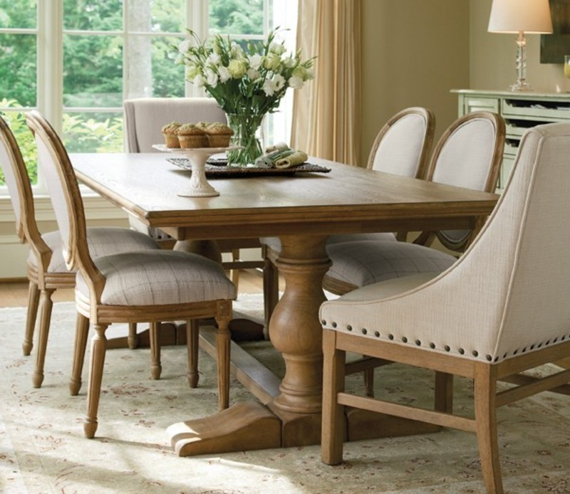Farmhouse Table And Chairs, Great Rooms Farmhouse Table And Chairs  By Universal