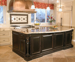 French Country Style Kitchen Decorating