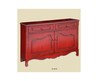 Talsma Furniture Accent Furniture Contessa Distressed Red Cupboard 50