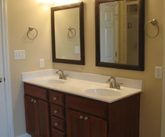 Upgrading One Bathroom Vanity Sink To Double Sinks