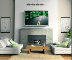 Things That Inspire: The Tv Dilemma: Tv Over Fireplace?