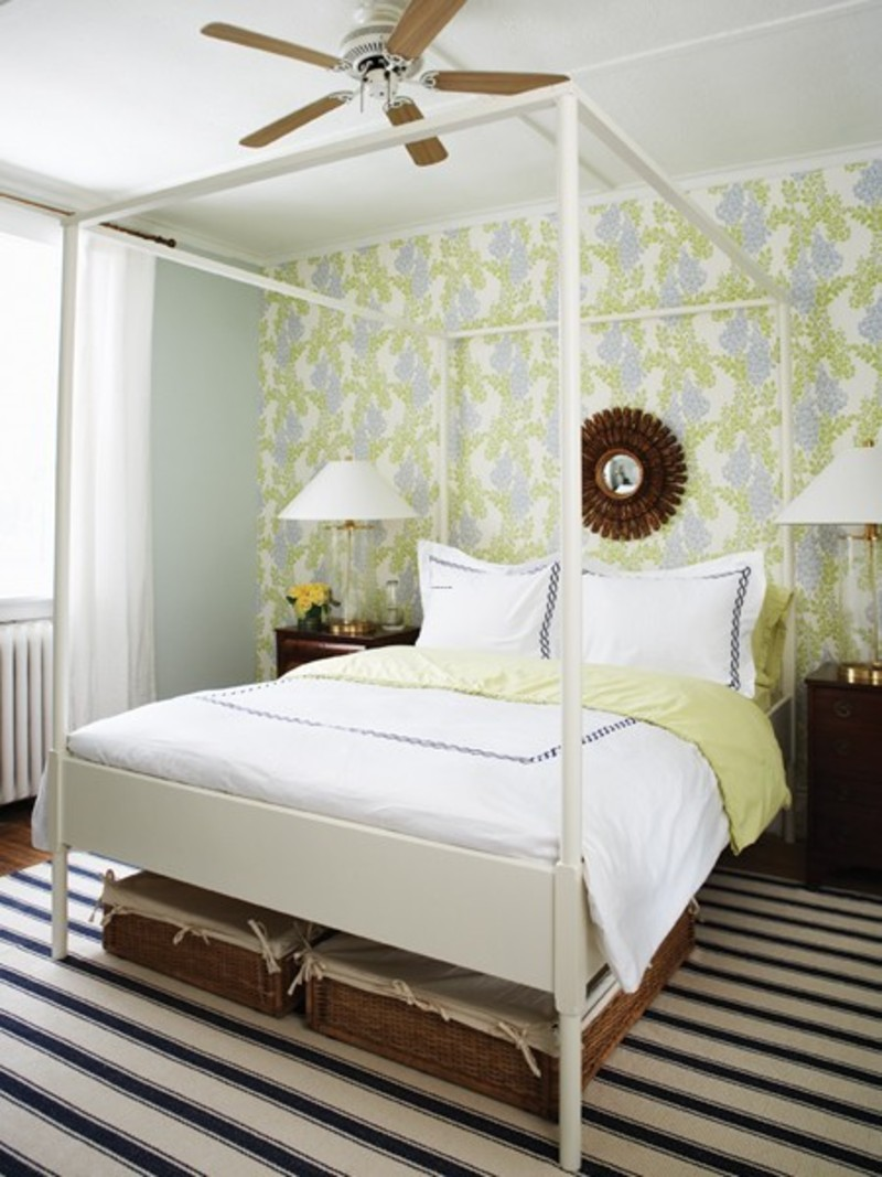 Airy Bedroom Design, Airy Bedroom Design
