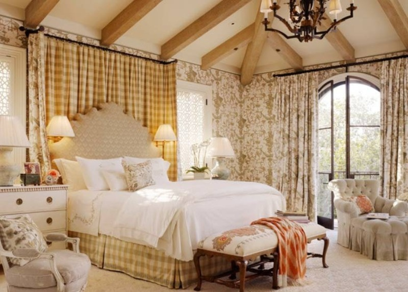 french country bedroom decor and ideas color schemes