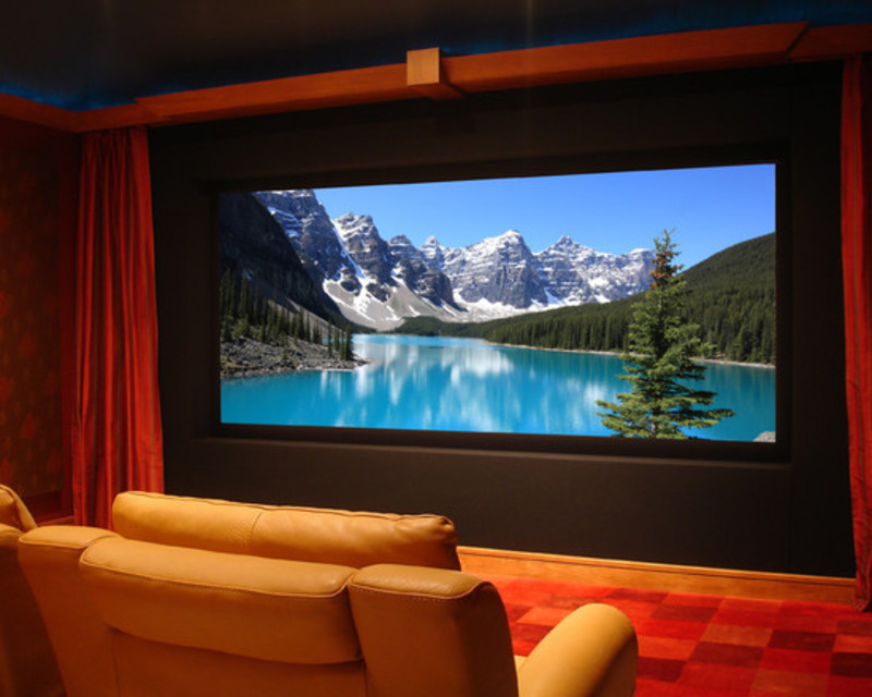 Media Room Curtains Design, Pictures, Remodel, Decor And Ideas ...