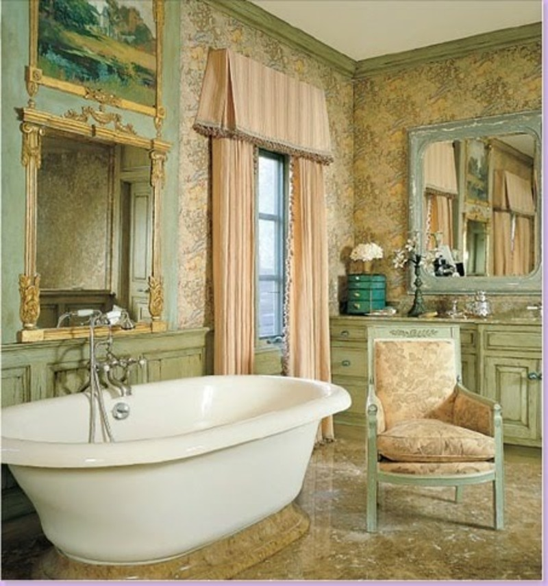 The enchanted home fabulously french design bookmark for French style bathroom design