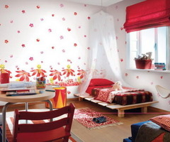 Colorful Decoration With Bedroom Wall Paint Ideas
