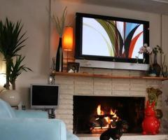 Fireplace And Tv Layout Designs Ideas