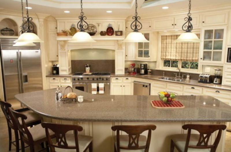 Four kitchen island ideas with bar we can carry out unique for Cool kitchen remodel ideas