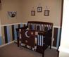 Striped Nursery Decorating Ideas For The Walls Of A Baby Boy's Nursery Room