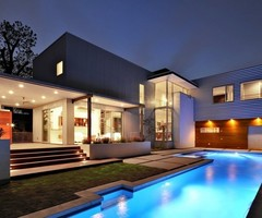 Luxury Dream House Design  The Laurel Residence By Studio Met