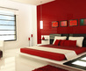 Color Your World: Inspiring Red, White And Black Bedroom Concept