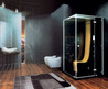 Sleek Black Bathroom Interior Dripping With Luxury