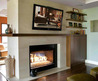 Decoholic » 20 Amazing Tv Above Fireplace Design Ideas