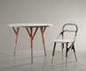 Great Chair And Round Table By Elise Gabriel