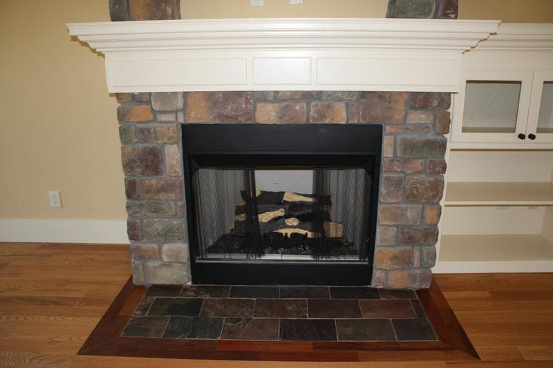 Fireplace Designs With Tile, New Construction / Fireplace Provided By Classic Tile : 17 Stone Fireplace Design Ideas Furniture