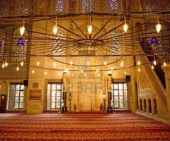 Sultanahmet Mosque Interior. Mosque Interior. Royalty Free Stock Photo, Pictures, Images And Stock Photography. Image 10820844.
