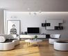 Ultramodern Ultramodern Black White Living Room Furniture