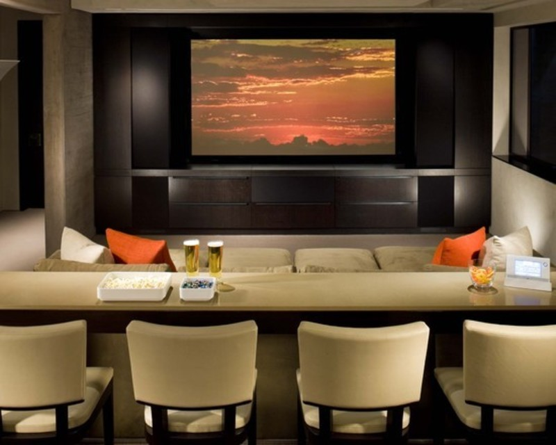 Denver Media Room Design Ideas, Pictures, Remodel, And Decor ...