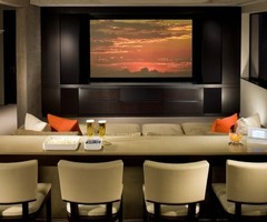 Denver Media Room Design Ideas, Pictures, Remodel, And Decor