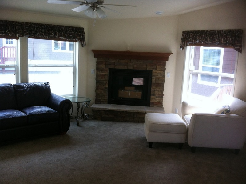 Fireplace Designs With Tile, Traditional Corner Stone Fireplace Designs
