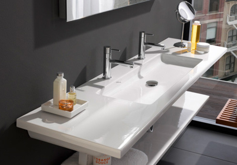 Ultra Modern Bathroom, Ultra Modern Bathroom Sink By Laufen