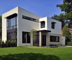Urban Cubism Flat With The High Class Privacy Contemporary
