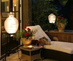 Unique Patio Lanterns Create Ambiance