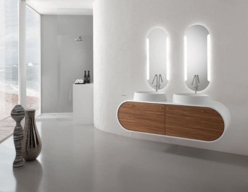 Modern bathroom furniture sets design bookmark 16100 for Ultra modern bathroom