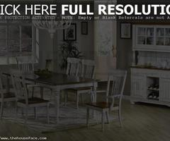Farmhouse Table And Chairs : Right Decoration And Chairs For Farmhouse Dining Room Table – House Design