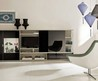Calm Ultra Modern Living Room With Cultural Context Display: Calm Ultra Modern Living Room With Cultural Context Display Picture  Fslide