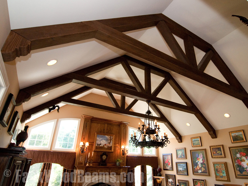 Fake Ceiling Beams ~ Faux wood ceiling beams design bookmark