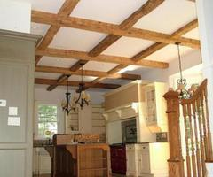 Decorative Wood Ceiling Beams, Timber Trusses, Post And Beam Trusses (973)299