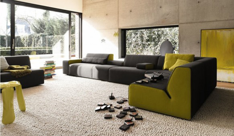 Ultra Modern Living Room, Inspirational Ultramodern Living Room Sofa Furniture