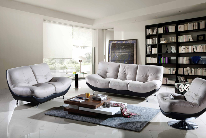 Modern Furniture Living Room, 2515 W/Swivel Chair, Modern Living Sets, Living Room Furniture