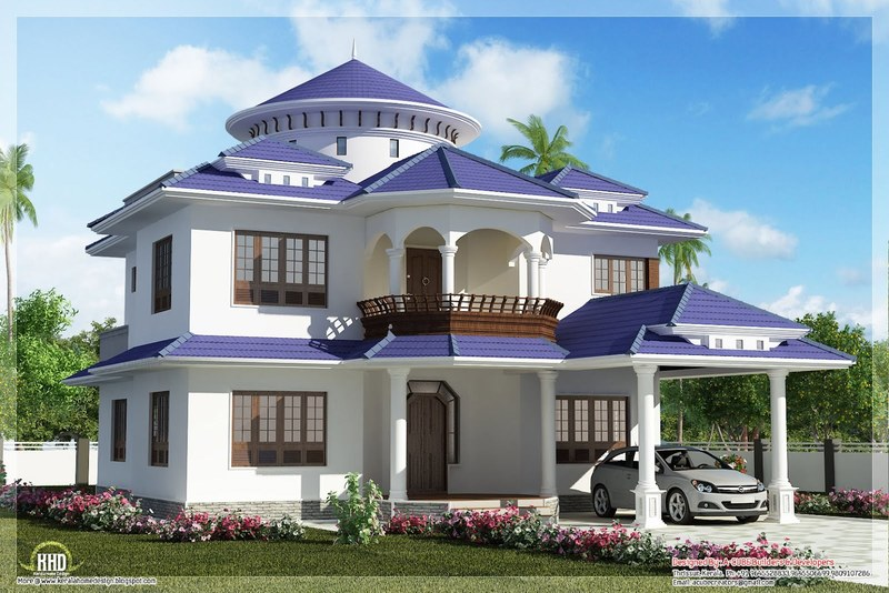 Dream House Design, Beautiful Dream Home Design In 2800 Sq.Feet