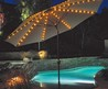 Patio Umbrella With Led Umbrella Lights/Auto Tilt