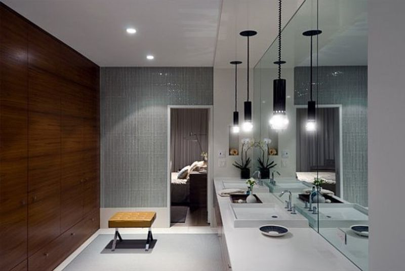 Ultra Modern Bathroom, 12 Beautiful Bathroom Lighting Ideas