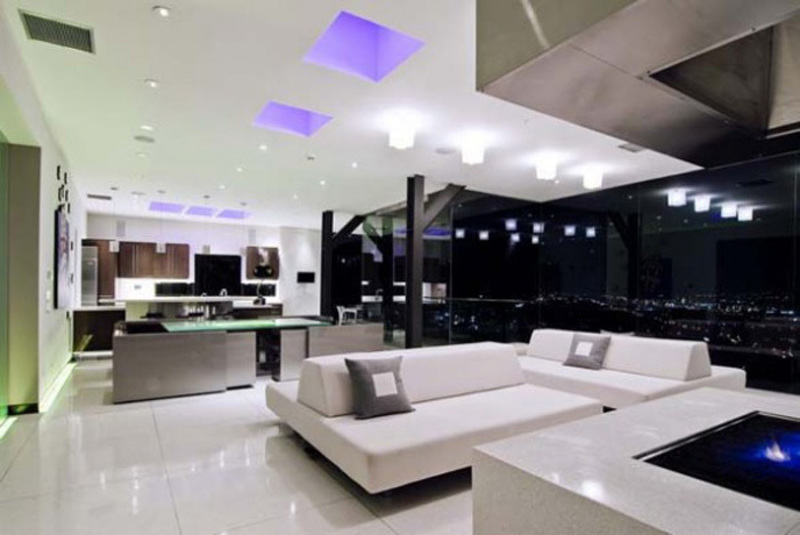 Ultra Modern Living Room, White Sofa For Ultra Modern Living Room Design Ideas   Design Ideas E Home Design Ideas.Com