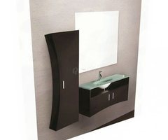 Lovely Design Element Ultra Ultramodern Bathroom Vanity Set