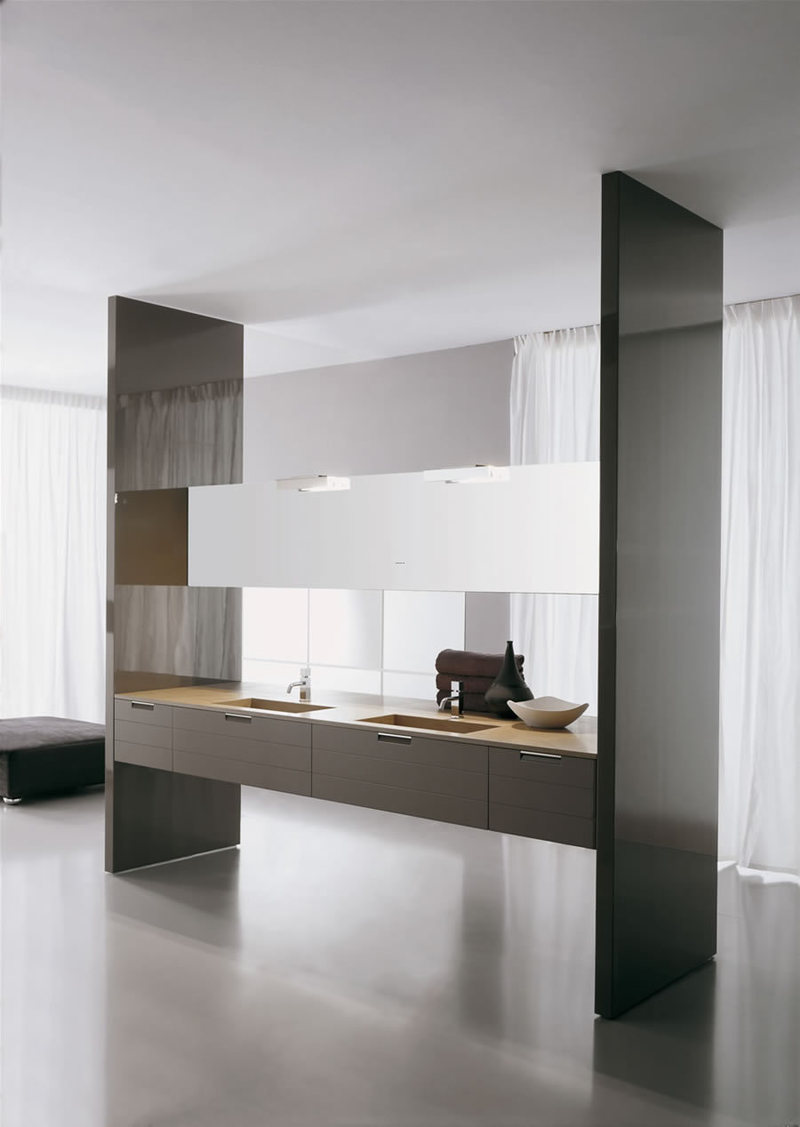 Ultra Modern Bathroom, Lovely Graceful Ultramodern Bathroom Design