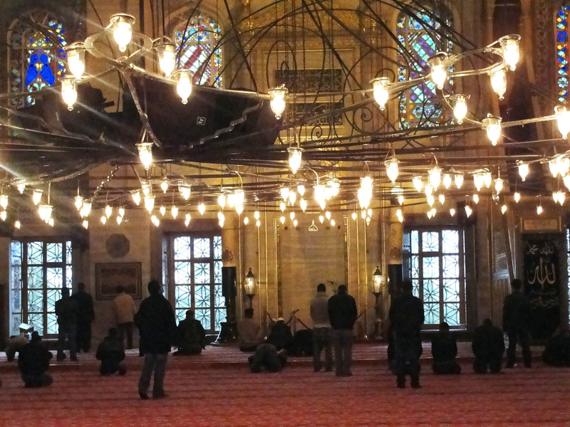 Mosque Interior Photos, Photo Essay: The Blue Mosque In Istanbul, Turkey