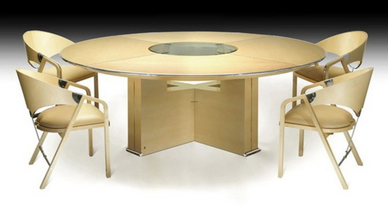 Round Table Design, Round Table Top Ideas