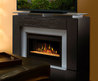 Dimplex Jasper Black Electric Fireplace Media Console Glass Embers