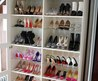 Download Wallpaper Shoe Closet 1071x1600 Shoe Daydreams The Big Reveal