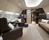 Private Jet Interior Cabin