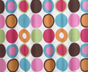 Deco Polka Dot Modern Brown Pink Bath Fabric Shower Curtain Sweet Jo Jo Designs