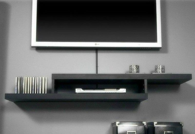 Pin by fernando arista on future home design bookmark 16368 for Wall mounted tv enclosure